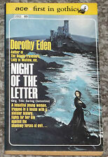 NIGHT OF THE LETTER DOROTHY EDEN NEW BOOK VINTAGE GOTHIC ROMANCE 1955 ~ ACE