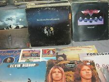 33 CLASSIC ROCK VINYL RECORDS - DOORS FOREIGNER AEROSMITH LARGE LOT WHOLESALE