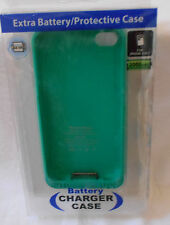 iphone 4/4S EXTRA BATTERY/ Protective Case GADGET GEAR CHARGE 2000mAH JADE GREEN