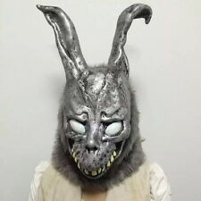 Halloween Donnie Darko FRANK Bunny Rabbit Cosplay Hooded Mask W/Fur Men Womens J