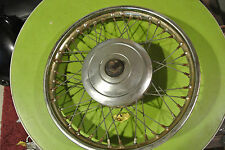 "wheel,  late 60s early 70s Triumph 20"" BSA Norton"