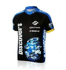 2017 Men Sportwear Cycling Jersey Bicycle Clothing Short-Sleeved Shirt Top S-4XL