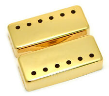 (2) Gold Covers for Vintage Gibson® Mini Humbucker Pickups PC-0308-002