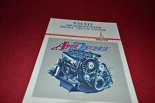 Deutz F5L912 Air Cooled Diesel Truck Engines Dealer's Brochure YABE7