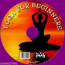 EASY STEP BY STEP BEGINNERS GUIDE TO YOGA WORKOUT HEALTH FITNESS PEACE CALM  DVD