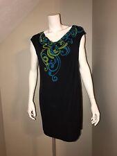 Women's Cato Beautiful Black Sleeveless Sheath Dress Size Small