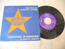 """LUCIANO RONDINELLA""""CANZONE D'AMORE- disco 45 giri IB Italy 1961"""" PERFETTO"""