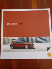 Renault Megane Coupe range brochure Sep 2009 South African market