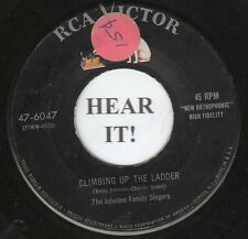 The Johnson Family Singers COUNTRY GOSPEL 45 (RCA Victor 6047) Climbing Up the..