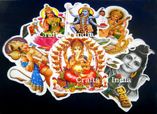 """Wholesale Lot - 100 Hindu Gods and Goddess Assorted Stickers:Size - 9"""" Inches"""