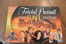 Trivial Pursuit Saturday Night Live SNL Edition DVD Board Game