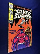 Silver Surfer #6 (1969 Marvel Comics) Silver Age appearance NO RESERVE
