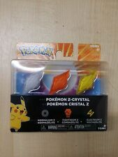 Pokemon Z RING Crystal Pack Normalium Z Fightinium Z Electrium Z (BRAND NEW)