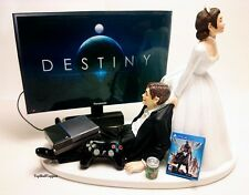 Wedding Cake Topper  Funny DEST Gamer Xbox One/PS4 Custom