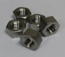 5x Titanium M8 Nuts Light Weight