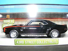 Chevrolet Camaro Black with Red Flash 43rd.Street Collection for USA 1:43 New