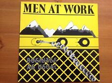 MEN AT WORK 1981 vinyl LP BUSINESS AS USUAL
