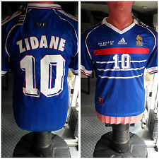 Maillot ZiDANE FINALE 1998 France 98 Neuf ! Collector Vintage
