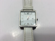 Nixon Downtown The Union Square Women's Watch White Analog Dial Date White Band