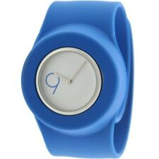 $110 Easy Slap On Fashion Cloud 9 Analog  Watch (blue)Battery not included