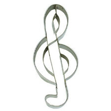 NEW Treble Clef Music Symbol Cookie Cutter