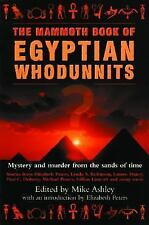 The Mammoth Book of Egyptian Whodunnits (Mammoth Books) Mike Ashley~Elizabeth P
