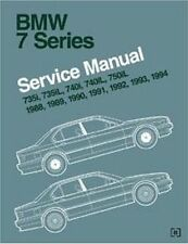 1988-1994 BMW 735i 735iL 740iL 750iL Bentley Repair Service Workshop Manual B794