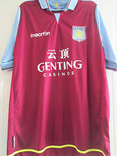 Aston Villa 2012-2013 Home Football Shirt adult size large /39724