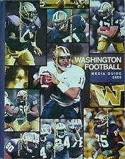 2000 WASHINGTON HUSKIES FOOTBALL MEDIA GUIDE