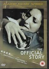 LUIS PUENZO THE OFFICIAL STORY Hector Alterio Norma Aleandro Hector Alterio DVD