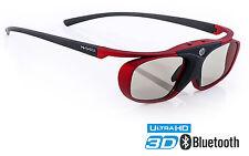 """Hi-SHOCK """"Scarlet Heaven"""" 3D Brille für Samsung, Sony HDR TV komp mit TDG-BT500A"""
