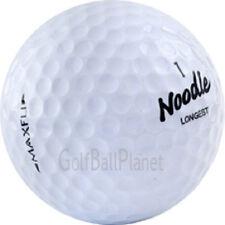 72 Near MINT Maxfli Noodle Used Golf Balls AAAA   Recycled Golf Balls