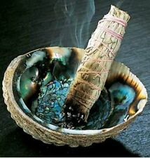 100% NATURAL CALIFORNIAN WHITE SAGE SMUDGE STICK BUNDLE CLEANSING ROOMS AURA 4""