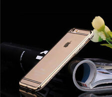 Bumper Diamond Bling Glitter ShockProof Soft Gel Case Cover For Mobile Phone