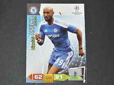 ANELKA CHELSEA BLUES UEFA PANINI CARD FOOTBALL CHAMPIONS LEAGUE 2011 2012