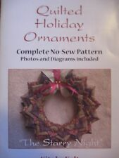 No-Sew-Ornament Quilted Christmas Wreath, Full-Color-Pattern
