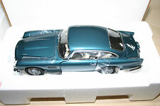 DANBURY MINT ASTON MARTIN DB5 AEGEAN BLUE NEW WITH PAPERWORK