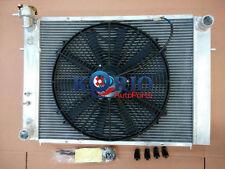 """ALUMINUM RADIATOR&16"""" Fan HOLDEN V8 5.0 COMMODORE Caprice VL VN VG VP VQ VR VS"""