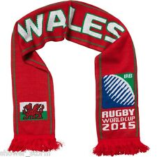 Wales Scarf NEW Red Mens World Cup 2015 Six Nations Rugby Union