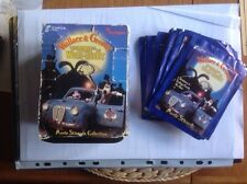 Cards Inc Wallace & Gromit Curse Of The Were-Rabbit  UNOPENED STICKER PACKS