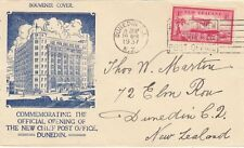 NEW ZEALAND:1937 Opening of New Chief Post Office,Dunedin souvenir cover