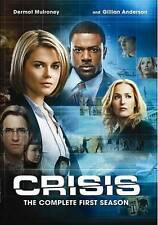 Crisis: The Complete First Season (DVD, 2014, 3-Disc Set)