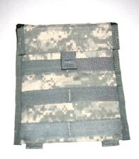 LOT of 2 US ARMY MILITARY SURPLUS MOLLE ACU ADMIN MAP GP UTILITY PAPERS POUCH
