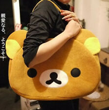 Hot! Hot!! Rilakkuma San-X Cute Big Bag Handbag Bag Brown