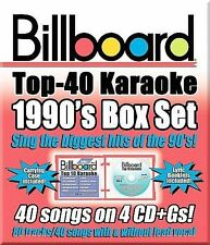 BILLBOARD KARAOKE-BILLBOARD 90S BOXSET CD NEW