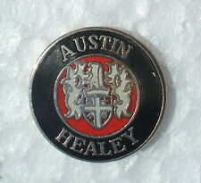 AUSTIN HEALEY ENAMEL LAPEL PIN BADGE. 20mm. DIAMETER. BUTTERFLY FIXING