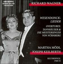 RICHARD WAGNER: WESENDONCK-LIEDER; OVERTURES NEW CD