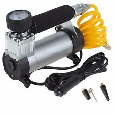 12V Portable Car Electric Tire Air Pump Compressor 100PSI Inflator Bike Ball New