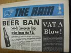 14/10/1972 Derby County v Leicester City [Large Newspaper Style Edition] (folded