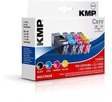 Original KMP C81V Vorteilspack für Canon PGI-525PGBK CLI-526 C M Y iP4850 MG5150